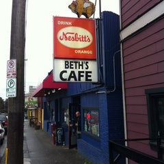 Photo taken at Beth's Café by Chad S. on 4/13/2011
