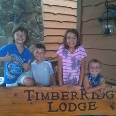 Photo taken at Timber Ridge Lodge & Waterpark by Jennifer J. on 8/14/2011