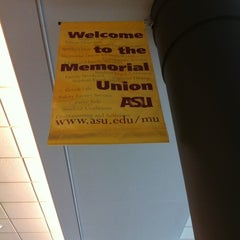 Photo taken at Memorial Union by Jerry N. on 11/13/2011