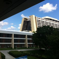 Photo taken at Disney's Contemporary Resort by Becca C. on 7/22/2011