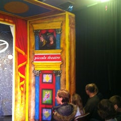 Photo taken at Piccolo Theatre by Liz G. on 11/21/2011