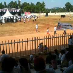 Photo taken at Velodrome Rawamangun by Daniel G. on 7/7/2012