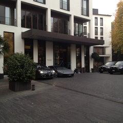 Photo taken at Bulgari Hotels & Resorts Milano by Ivan R. on 11/14/2011