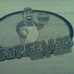 Photo taken at Fat Fellas by Kristie D. on 9/3/2011