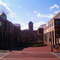 Photo taken at University of North Carolina at Charlotte by Kristina on 3/5/2012