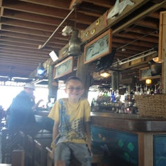 Photo taken at Virginia's on the Bay by Andrew S. on 5/26/2012
