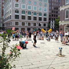 Photo taken at Faneuil Hall Marketplace by James W. on 7/18/2012