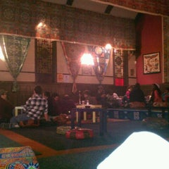 Photo taken at Sphinx Hookah Bar & Cafe by Michael G. on 1/7/2012