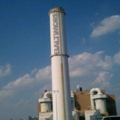Photo taken at Baltimore BRESCO Smokestack / Wheelabrator Incinerator by Brittainy D. on 7/26/2012