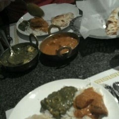 Photo taken at Mehfil Indian Cuisine by Sara C. on 11/2/2011