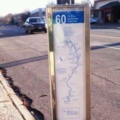 Photo taken at 60 Bus Stop by Thomas Z. on 11/18/2011