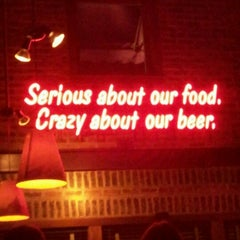 Photo taken at Rock Bottom Brewery by Lindy T. on 1/12/2012