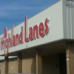 Photo taken at Highland Lanes by excitable h. on 7/18/2012