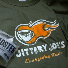 Photo taken at Jittery Joe's by Angie T. on 2/16/2012