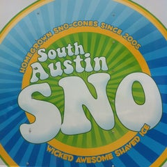 Photo taken at South Austin Sno by Shelly L. on 4/9/2012