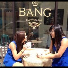 Photo taken at BANG BLOWDRY BAR by Lindsey N. on 8/18/2012