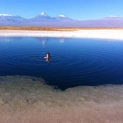 Photo taken at Laguna Cejar by Anita C. on 6/6/2012