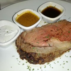 Photo taken at Fleming's Prime Steakhouse & Wine Bar by Stephen F. on 4/8/2012