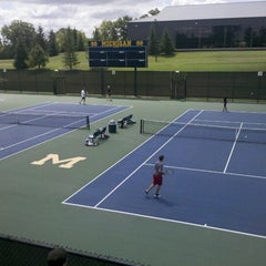 Photo taken at University of Michigan Varsity Tennis Center by Alex G. on 7/28/2012