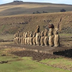 Photo taken at Isla de Pascua | Rapa Nui by Paula A. on 6/5/2012