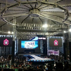 Photo taken at 올림픽체조경기장 (Olympic Gymnastics Arena) by 승희 최. on 3/11/2012