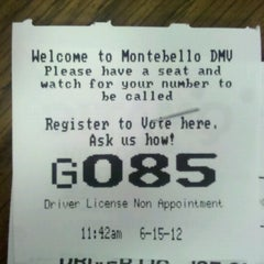 Photo taken at Department of Motor Vehicles by Ruben H. on 6/15/2012