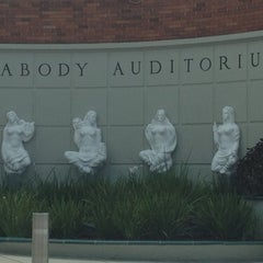 Photo taken at Peabody Auditorium by Summer K. on 7/19/2012