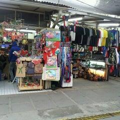 Photo taken at Feria Artesanal Santa Lucía by Felipe C. on 7/9/2012