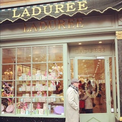 Photo taken at Ladurée by Dane K. on 5/21/2012