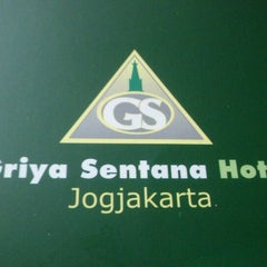 Photo taken at Griya Sentana Hotel by Ayyu M. on 6/4/2012