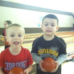 Photo taken at Edgemere Bowl by Valerie O. on 2/11/2012