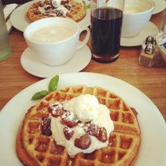 Photo taken at Milk & Honey Café by Kristen C. on 3/10/2012