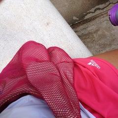 Photo taken at Phú Thọ tennis club by Tinu on 6/22/2012