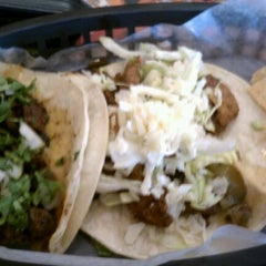 Photo taken at Guacamaya (formerly Chubby's Tacos) by Gee B. on 4/24/2012