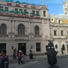 Photo taken at Plaza de Armas by Ricardo E. on 8/30/2013