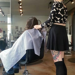 Photo taken at Hair Drezzers on Fire by E S. on 1/28/2014