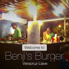 Photo taken at Benji's Burger by Yvan A. on 7/22/2013