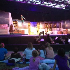 Photo taken at Shawnee Mission Theater In The Park by Eric on 7/6/2013