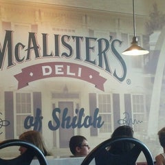 Photo taken at McAlister's Deli by Jeff M. on 8/30/2013