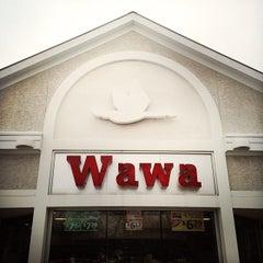 Photo taken at Wawa by Kate T. on 1/26/2014