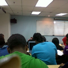 Photo taken at Unitar International University, Bandar Sunway by Christine A. on 7/15/2013
