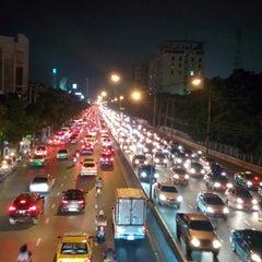 Photo taken at Ngam Wong Wan Road by Yodsawat A. on 10/29/2014