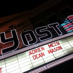 Photo taken at The Yost Theater by Alex M. on 11/11/2012