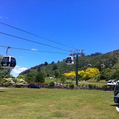 Photo taken at Skyline Rotorua Gondola by Max on 11/24/2012