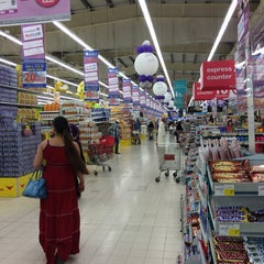 Photo taken at Carrefour by Shiraz K. on 4/11/2014