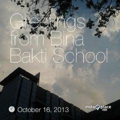 Photo taken at Bina Bakti School by Gilberth G. on 10/16/2013