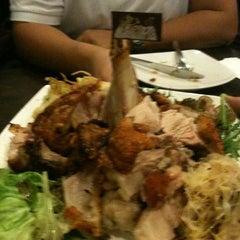 Photo taken at Brotzeit German Bier Bar & Restaurant by Sannie on 12/31/2012