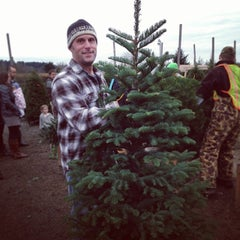 Photo taken at McMurtrey's Red-Wood Christmas Tree Farm by snowygrl on 11/30/2013