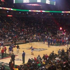 Photo taken at BMO Harris Bradley Center by Hailey M. on 1/27/2013