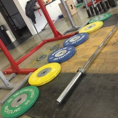 Photo taken at RC CrossFit by Lisa E. on 2/2/2013